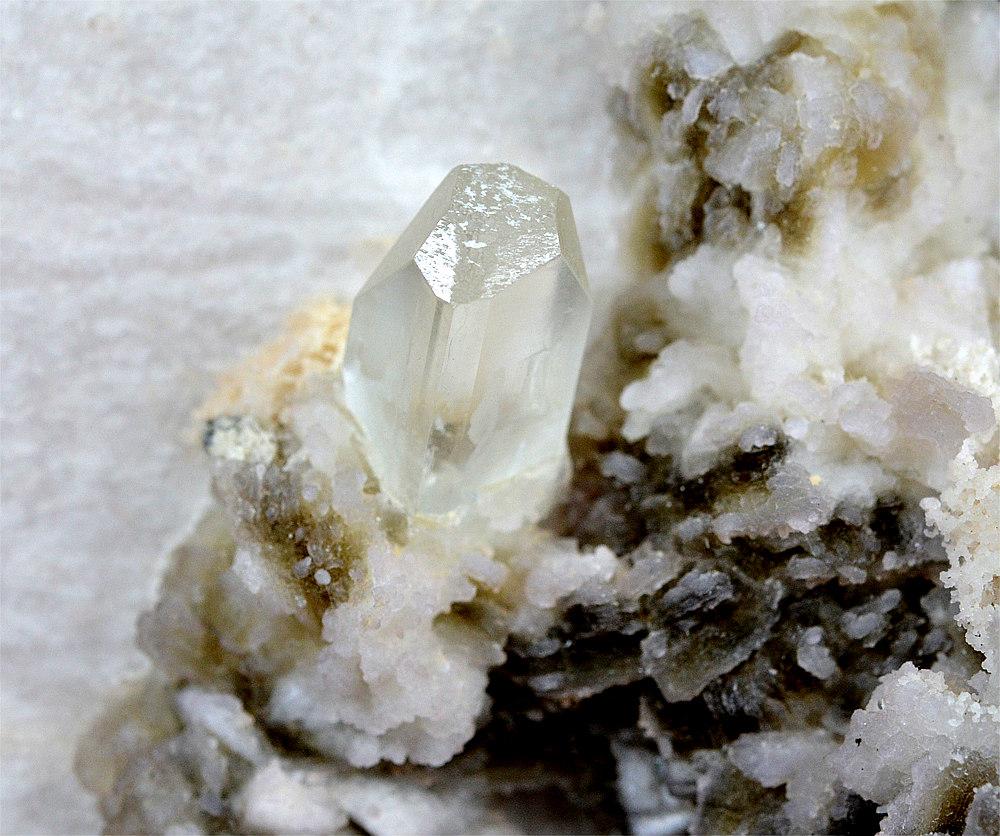 Topaz With Lepidolite
