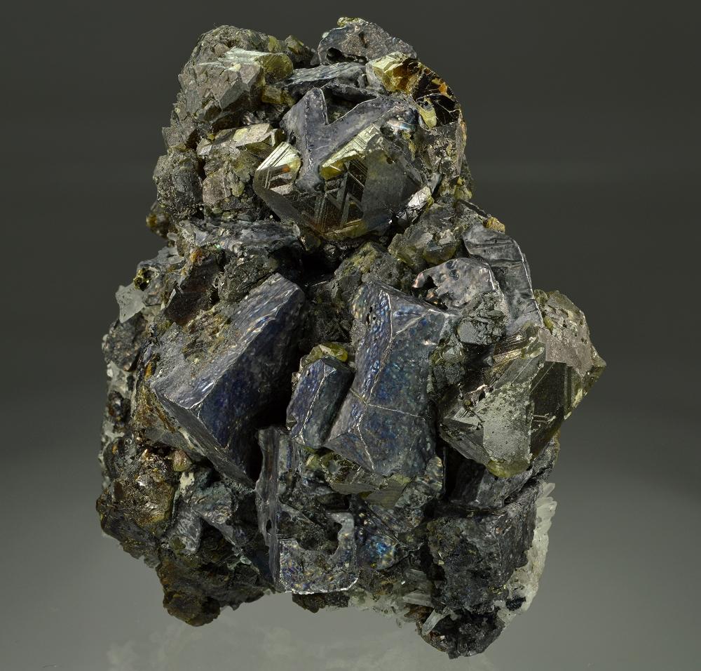 Sphalerite Var Cleiophane Galena & Quartz