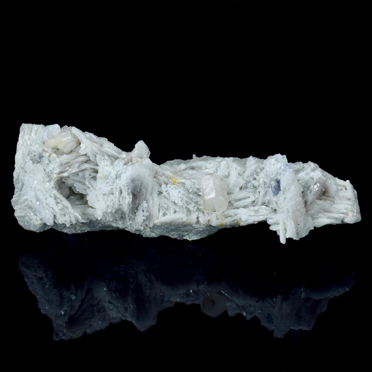 Calcite Fluorite On Baryte