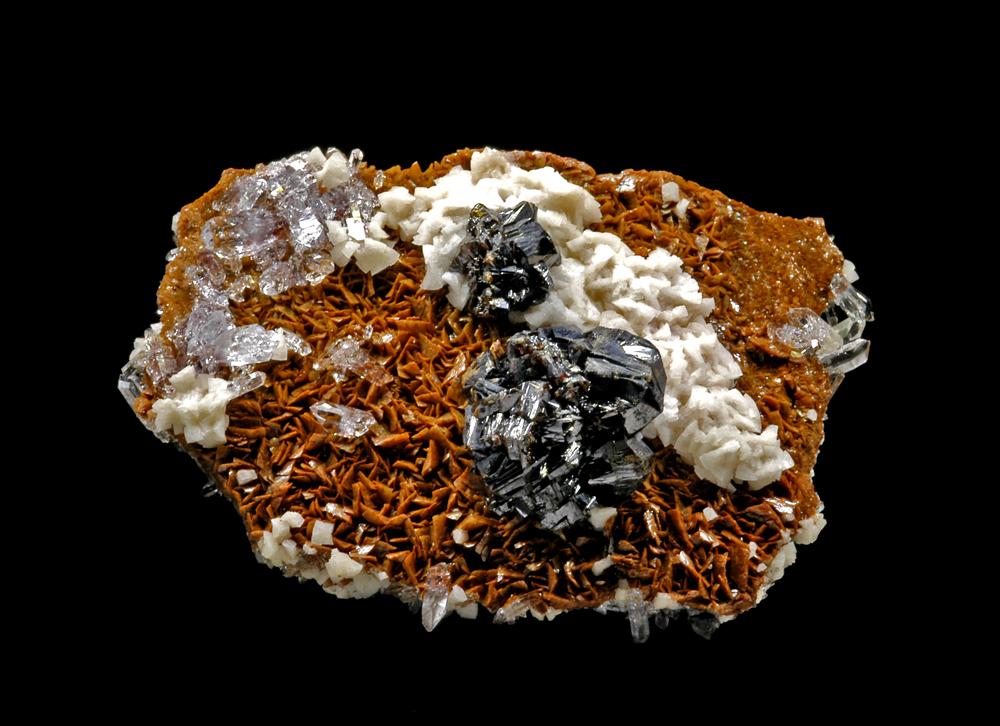 Sphalerite & Siderite & Dolomite