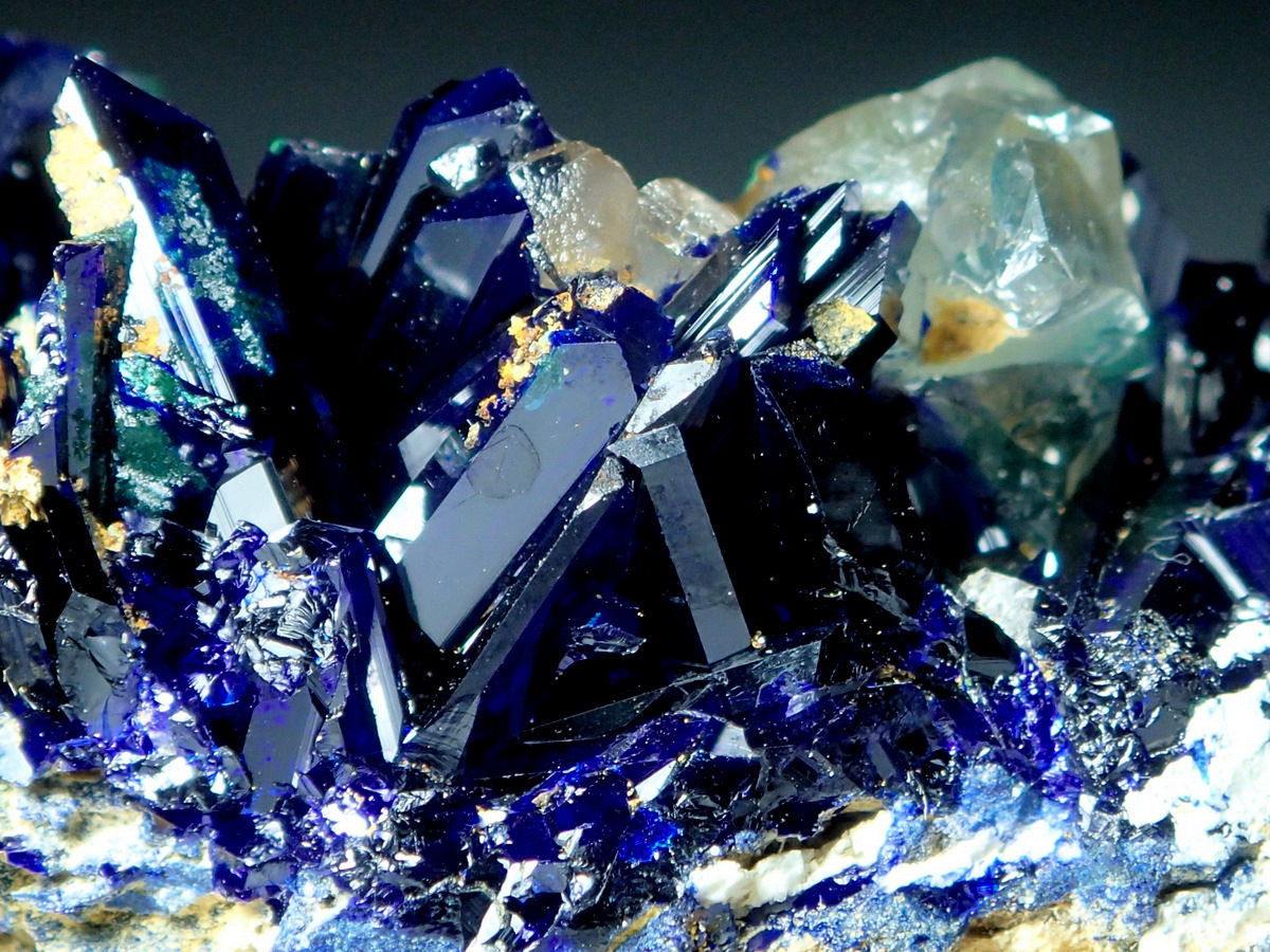 Smithsonite On Azurite