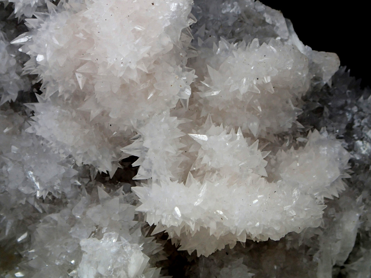 Calcite On Baryte On Pyrite