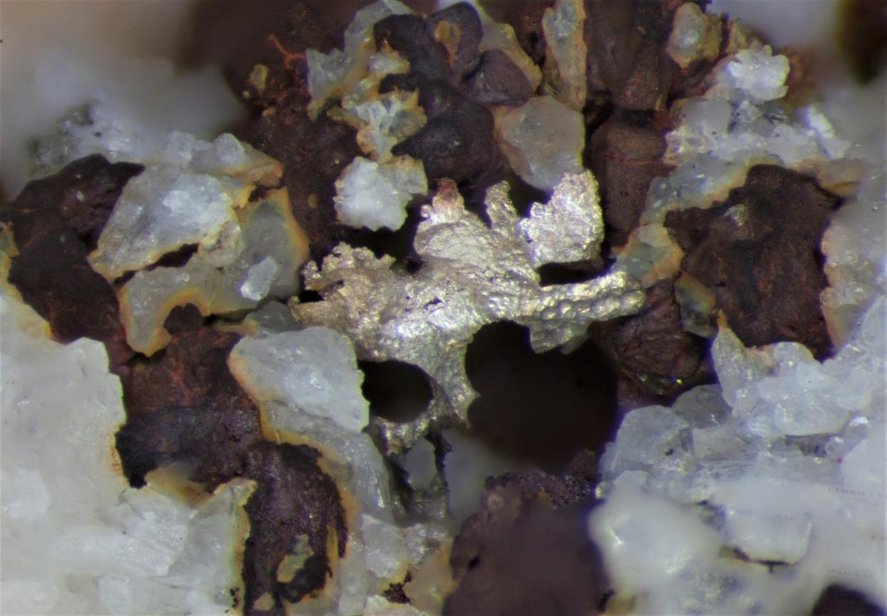 Copper With Silver & Cuprite