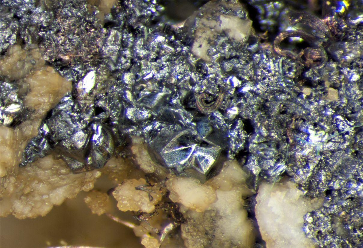 Silver Wire & Stromeyerite