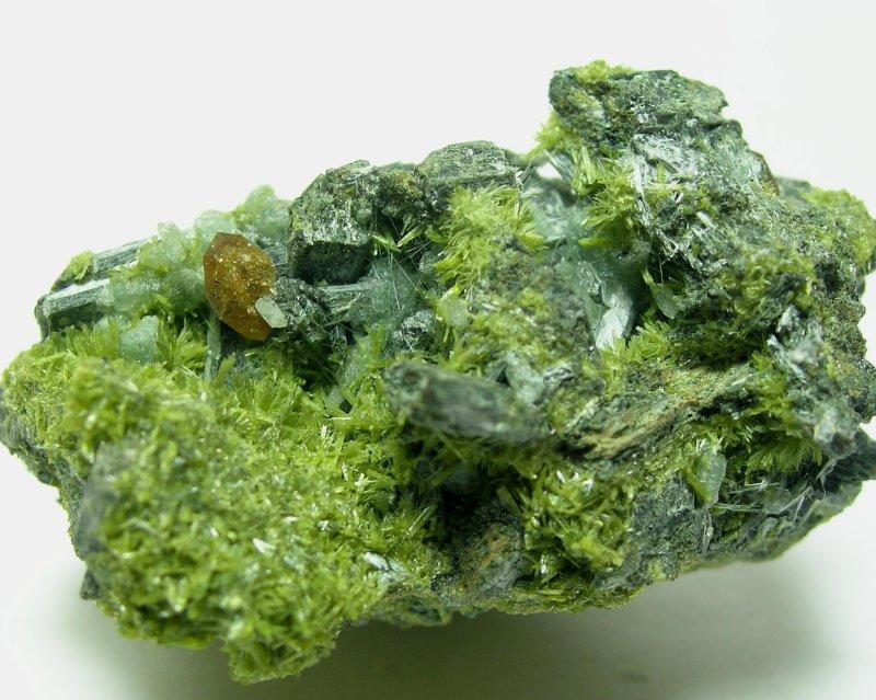 Titanite Clinozoisite & Actinolite