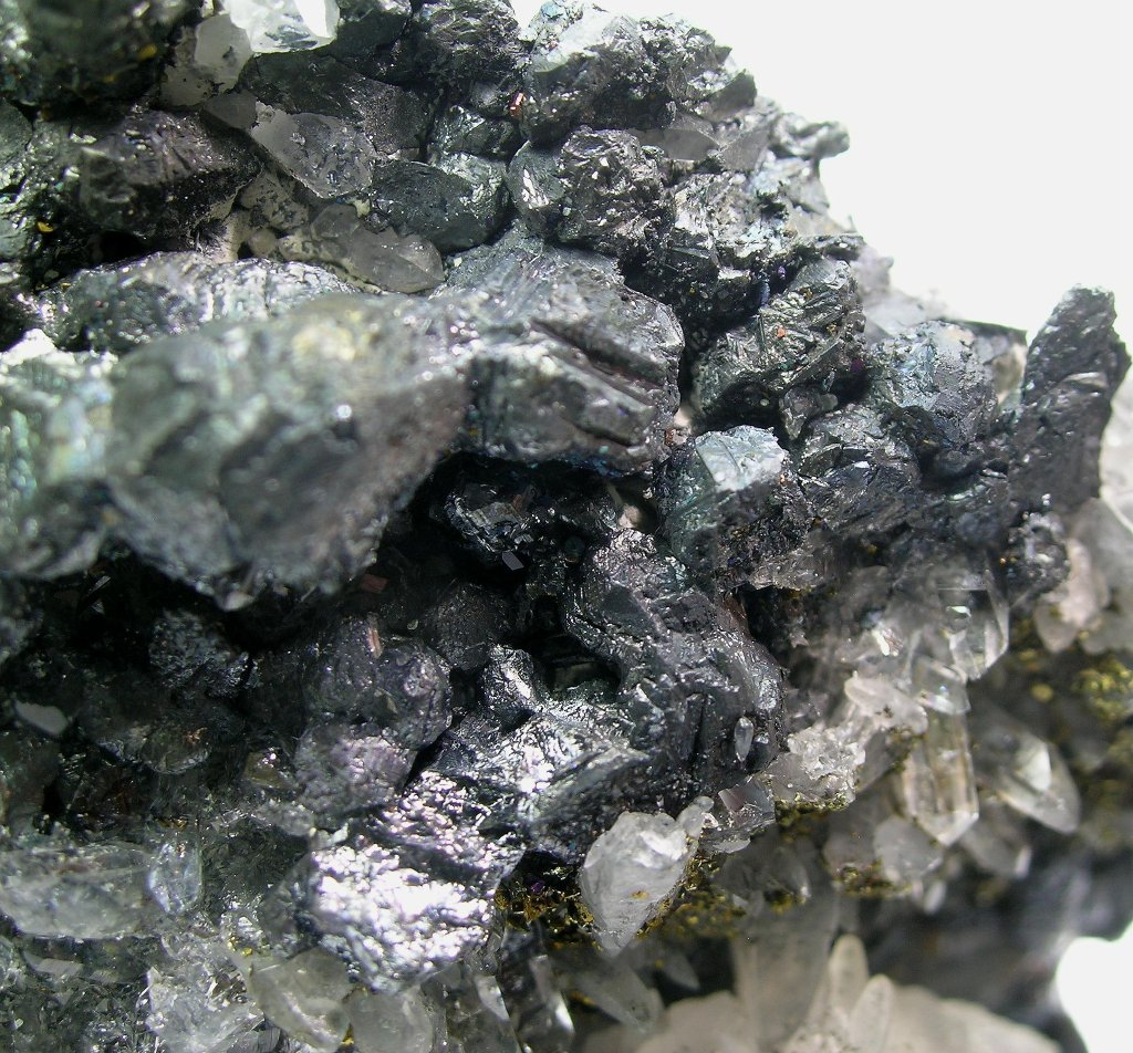 Chalcocite Bornite & Chalcopyrite