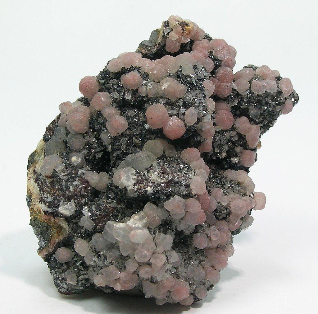 Smithsonite Sphalerite & Baryte