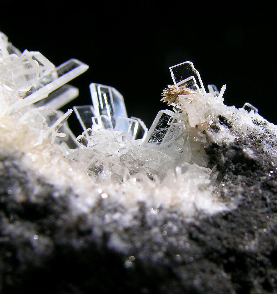 Fluorcalcioroméite & Baryte
