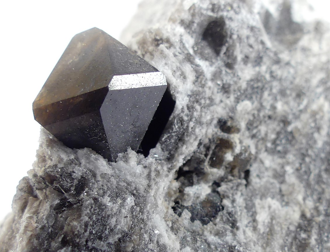 Smoky Quartz & Gypsum