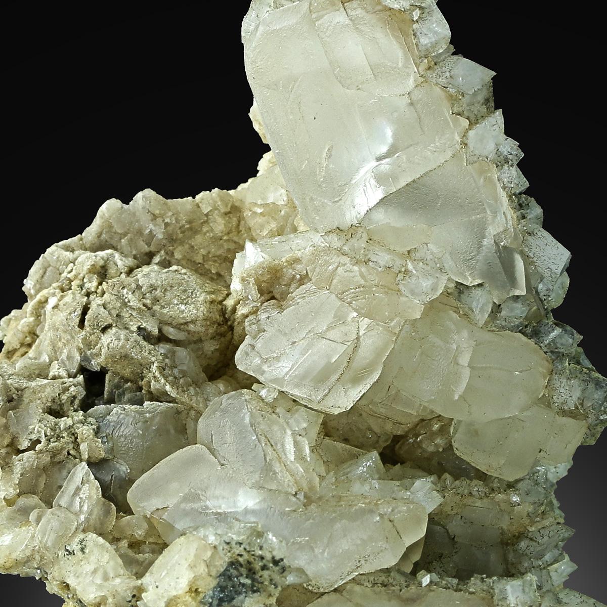 Calcite & Adularia