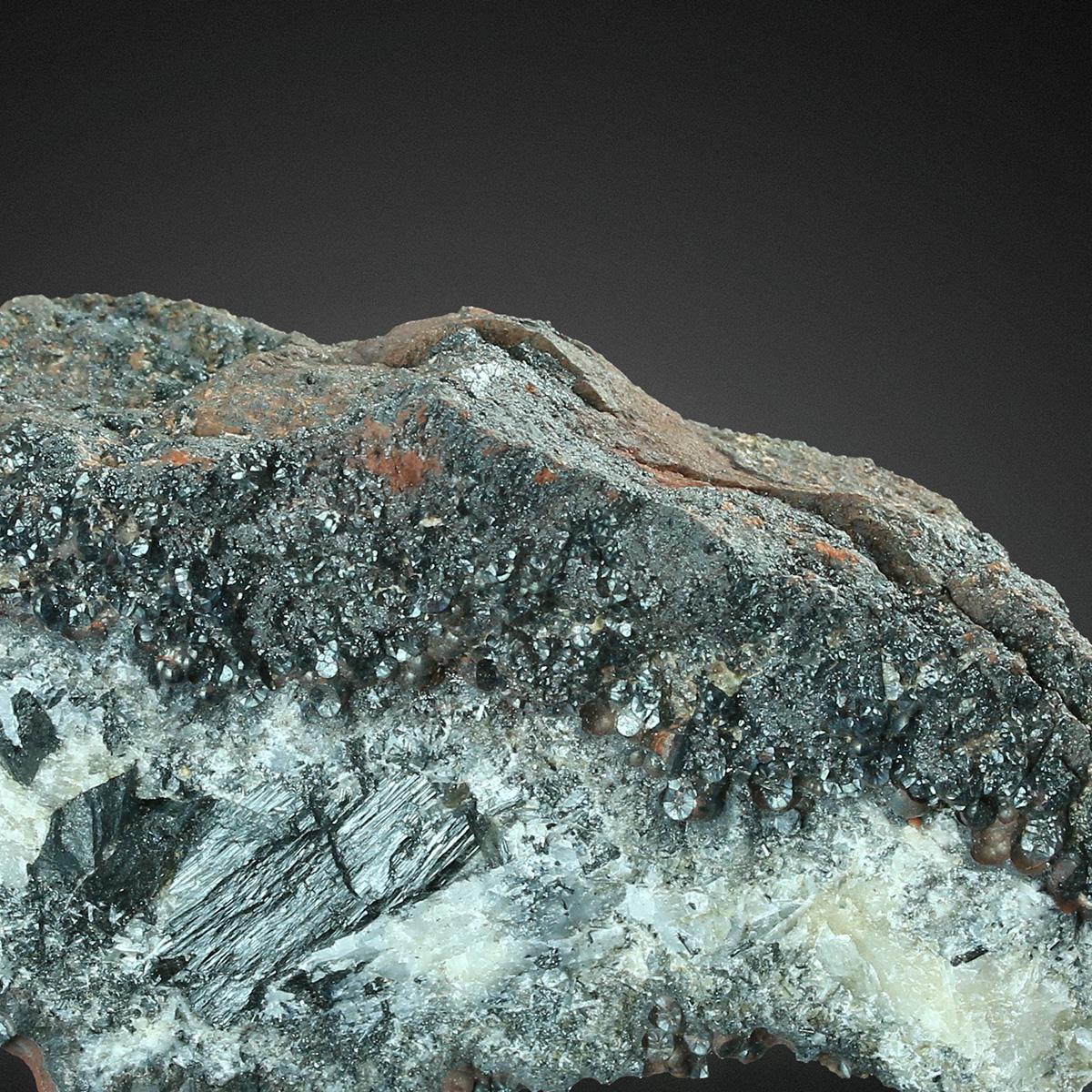 Manganite With Hematite Var Kidney Ore