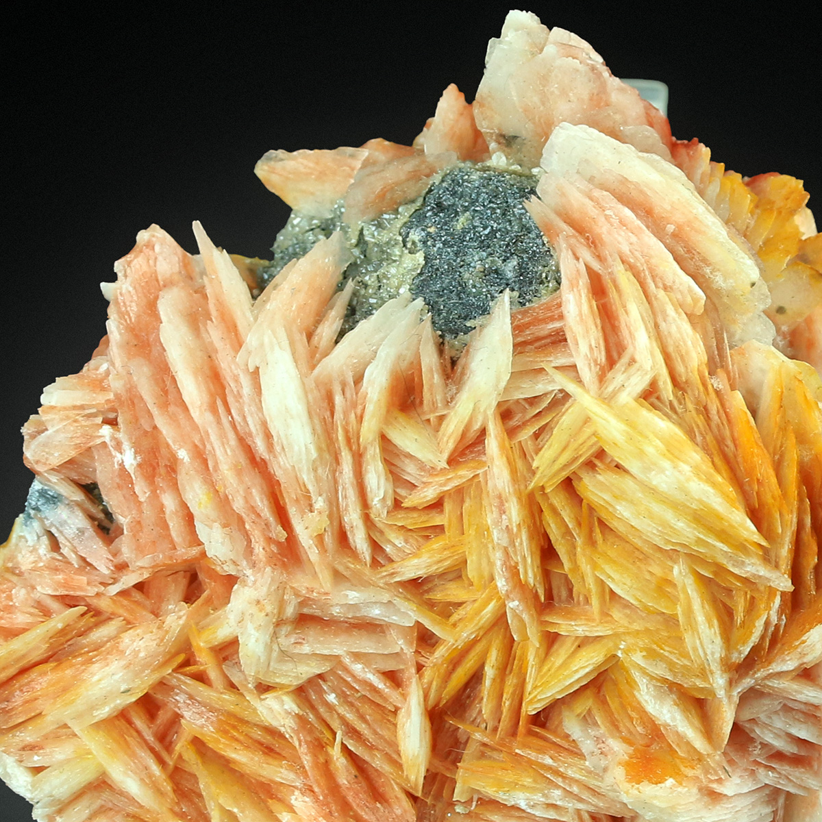 Cerussite With Baryte & Galena