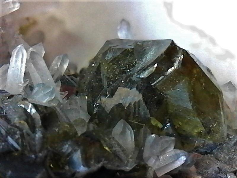 Sphalerite Var Cleiophane Quartz Galena & Pyrite
