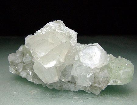 Calcite Fluorapophyllite & Prehnite