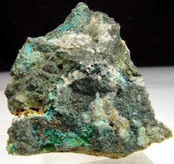 Chalcophyllite & Cyanotrichite