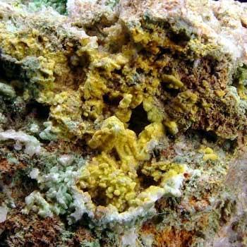 Chrysocolla Pyromorphite & Cerussite