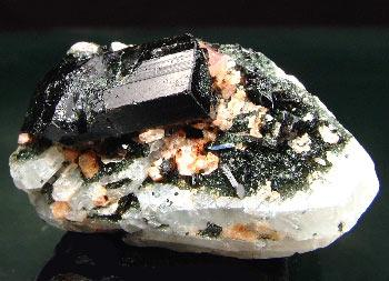 Pezzottaite With Tourmaline & Albite