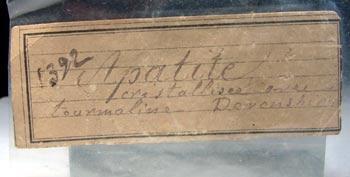 Apatite & Tourmaline