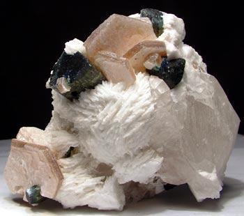 Elbaite Muscovite Cleavelandite & Quartz