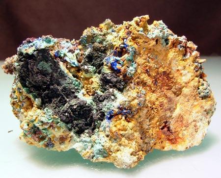Linarite & Cerussite