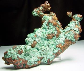 Native Copper & Plancheite