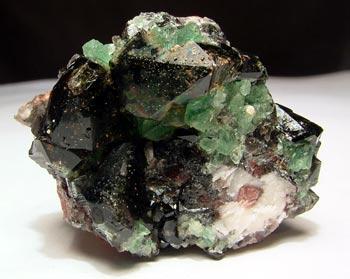 Smoky Quartz & Fluorite