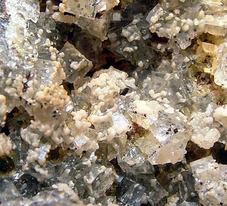 Smithsonite & Fluorite