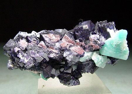 Fluorite With Amazonite