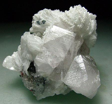 Cleavelandite & Quartz With Indicolite