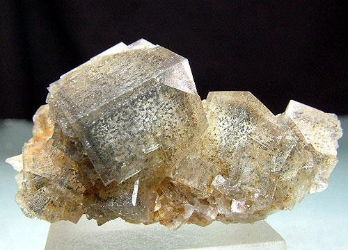 Fluorite With Marcasite Inclusions