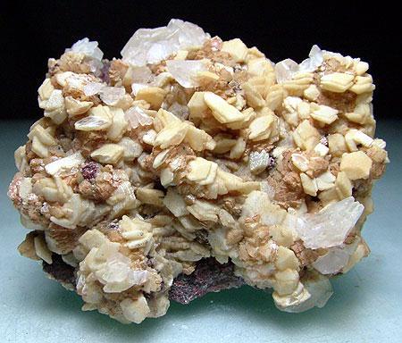 Lepidocrocite Calcite Dolomite & Ankerite
