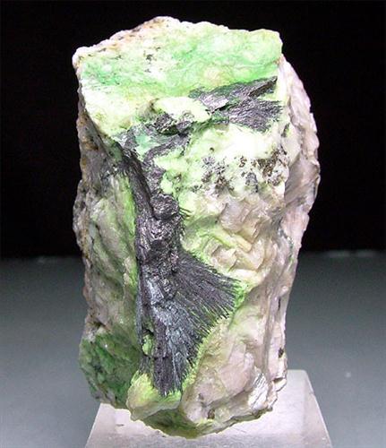 Millerite Zaratite & Sphalerite