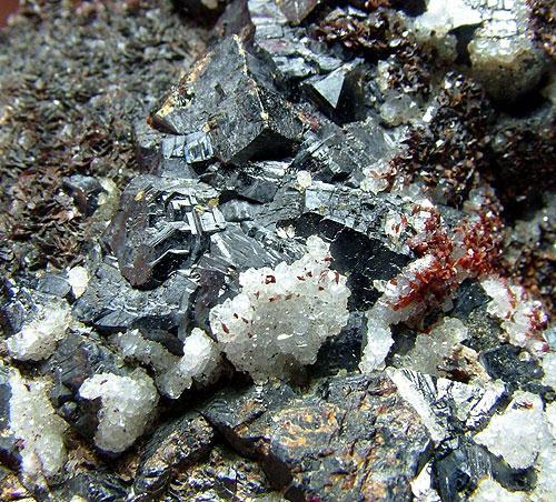 Sphalerite & Siderite