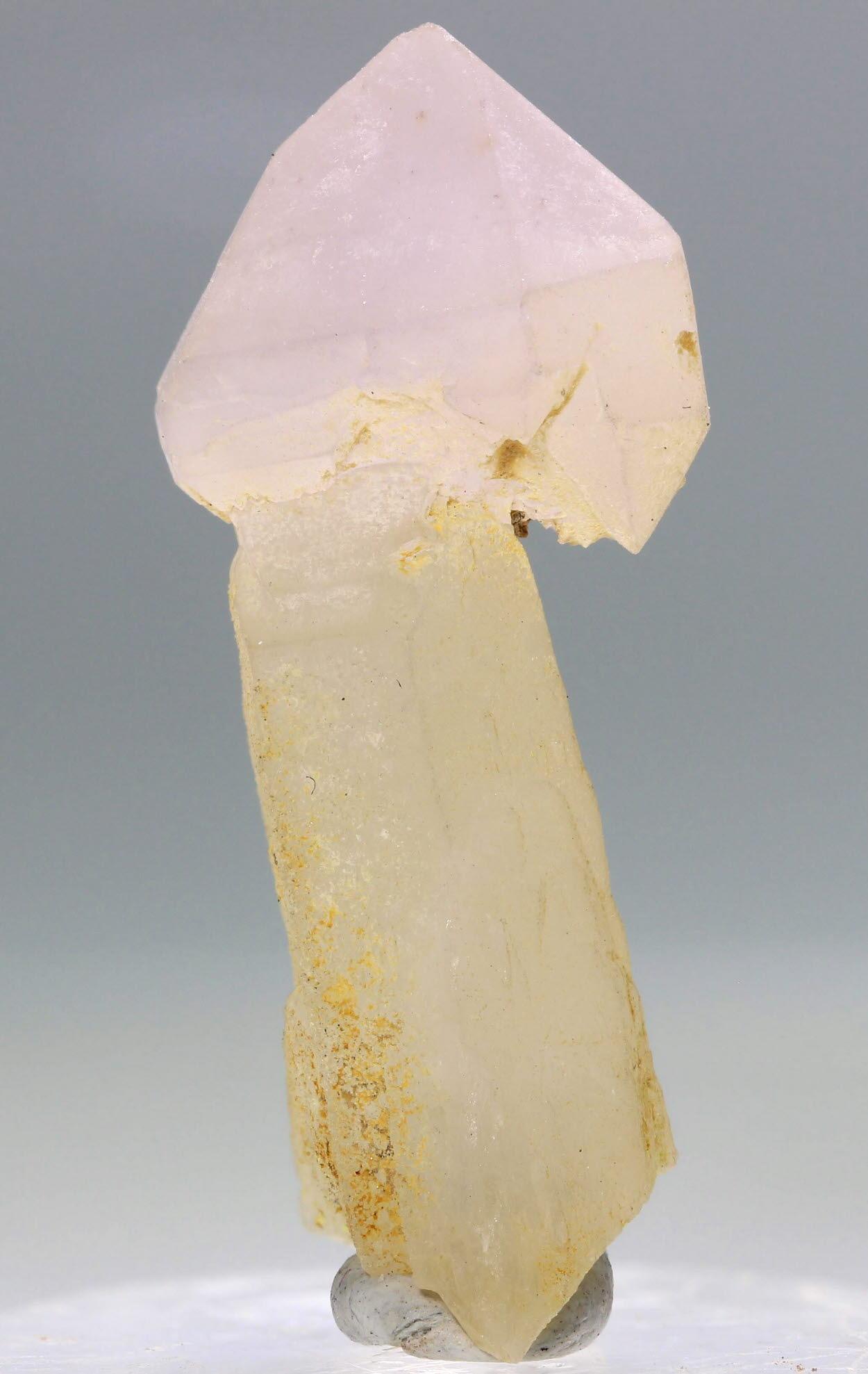 Amethyst Sceptre On Quartz