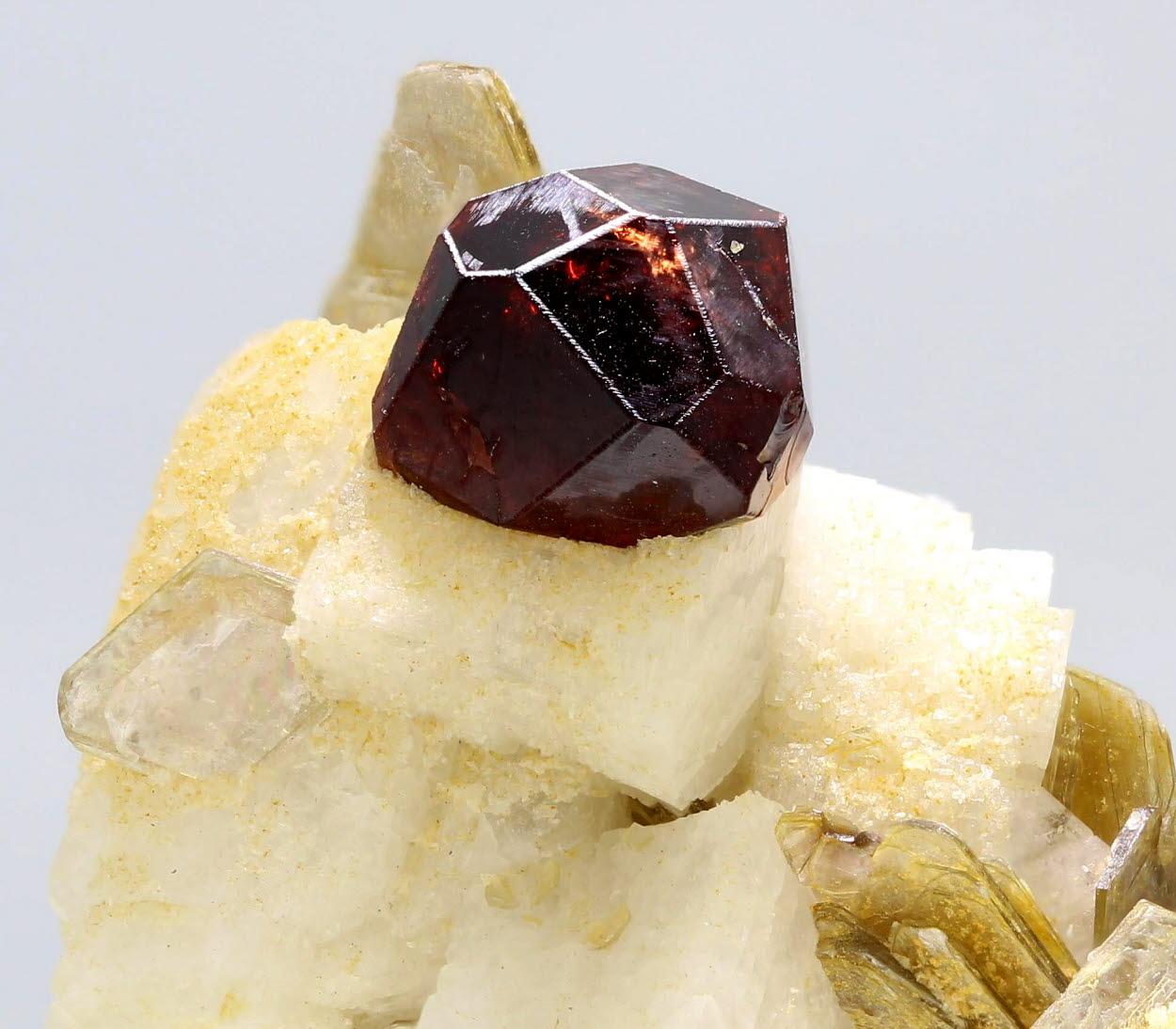 Spessartine Muscovite & Albite