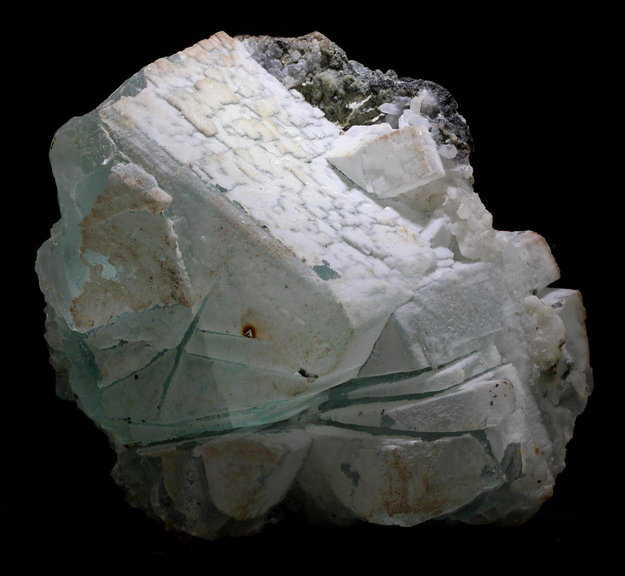 Fluorite & Chalcedony