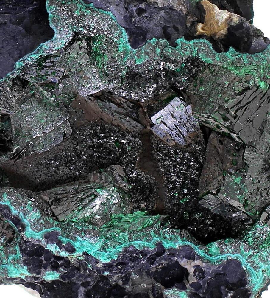 Malachite Psm Azurite & Heterogenite