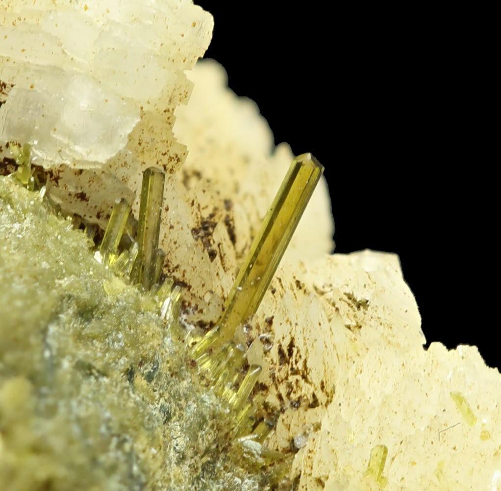 Epidote Adularia & Byssolite