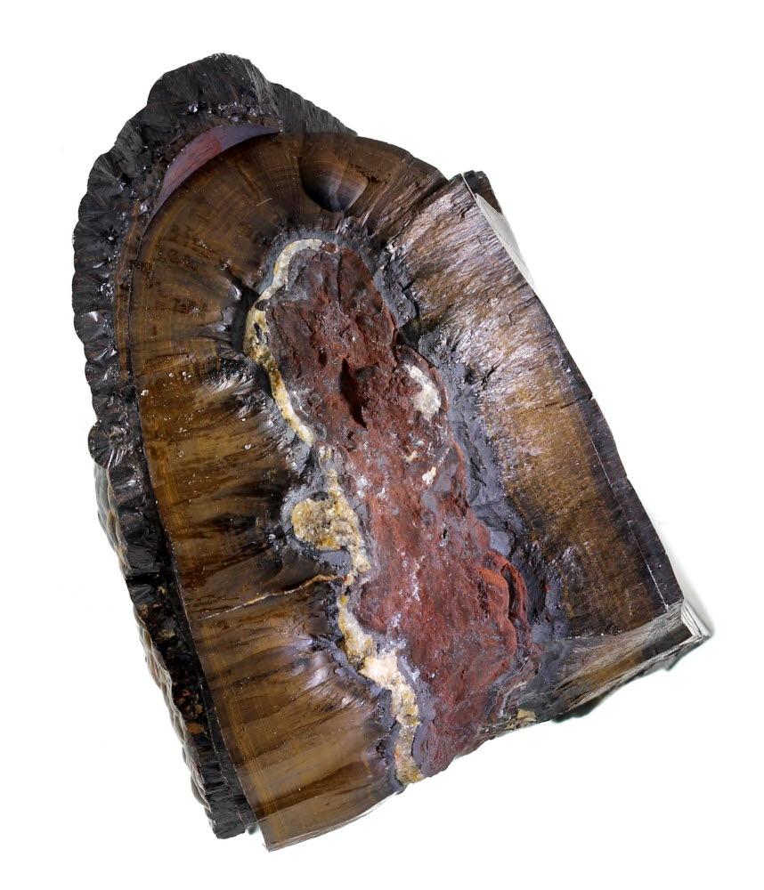 Hematite & Goethite Var Wood Iron