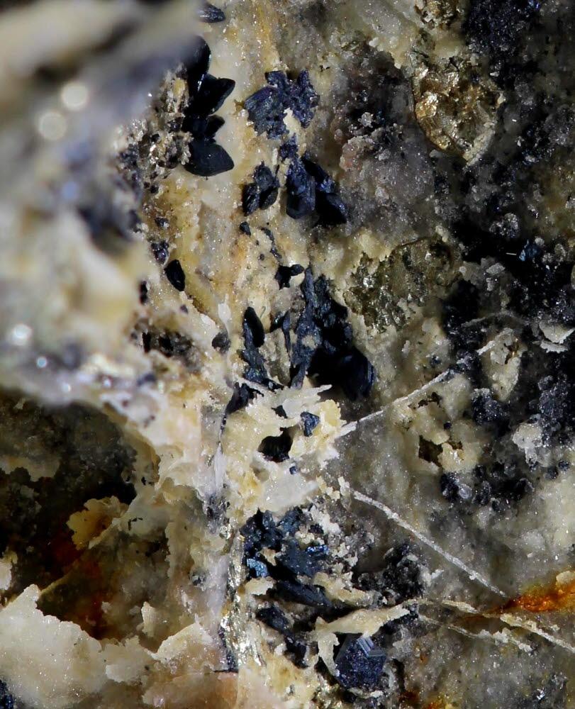 Chalcocite Bornite & Arsenopyrite