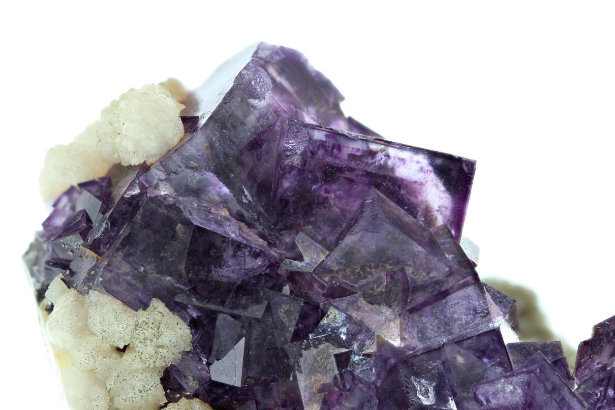 Fluorite Gilbertite & Dolomite