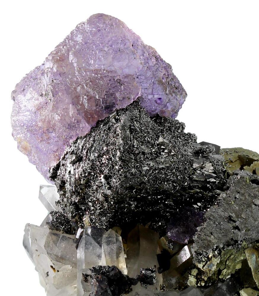 Fluorite Arsenopyrite Pyrite & Quartz