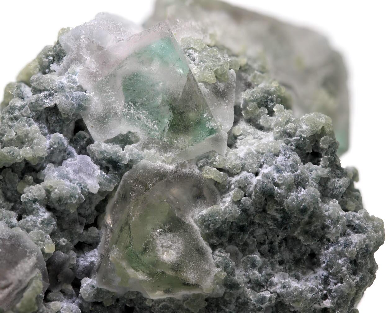 Fluorite & Lepidolite