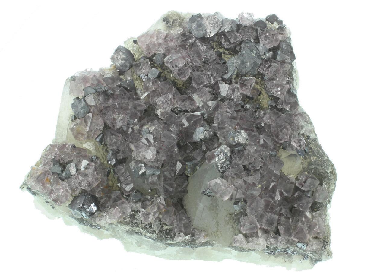 Fluorite Galena & Quartz