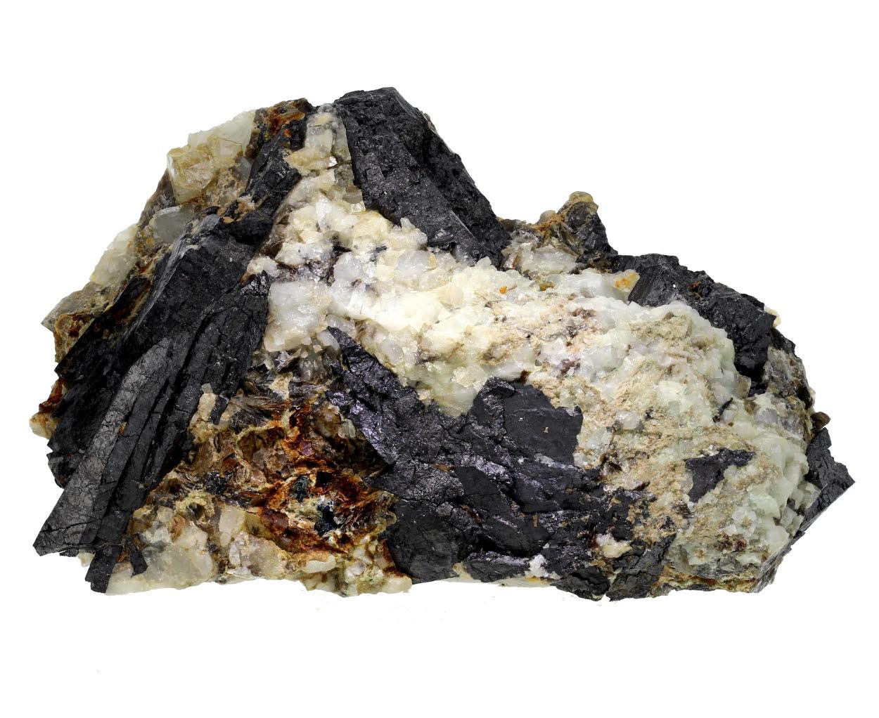 Wolframite & Topaz