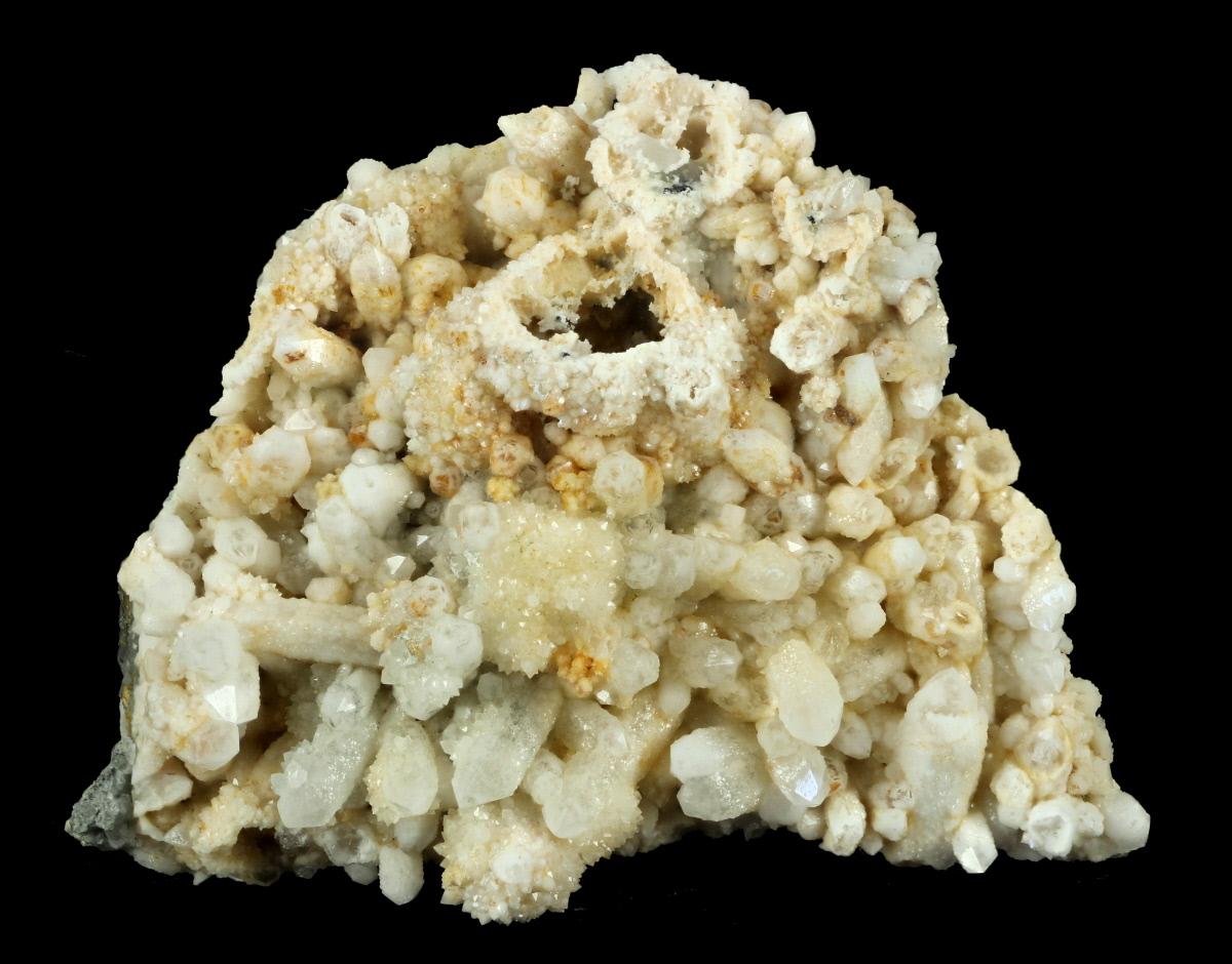 Quartz Psm Pyrite On Quartz