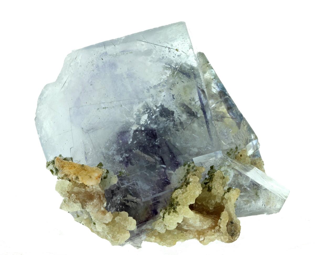 Fluorite & Gilbertite