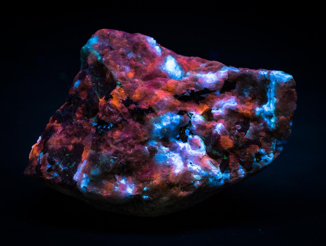 Eudialyte Calcite Natrolite Aegirine & Sphalerite