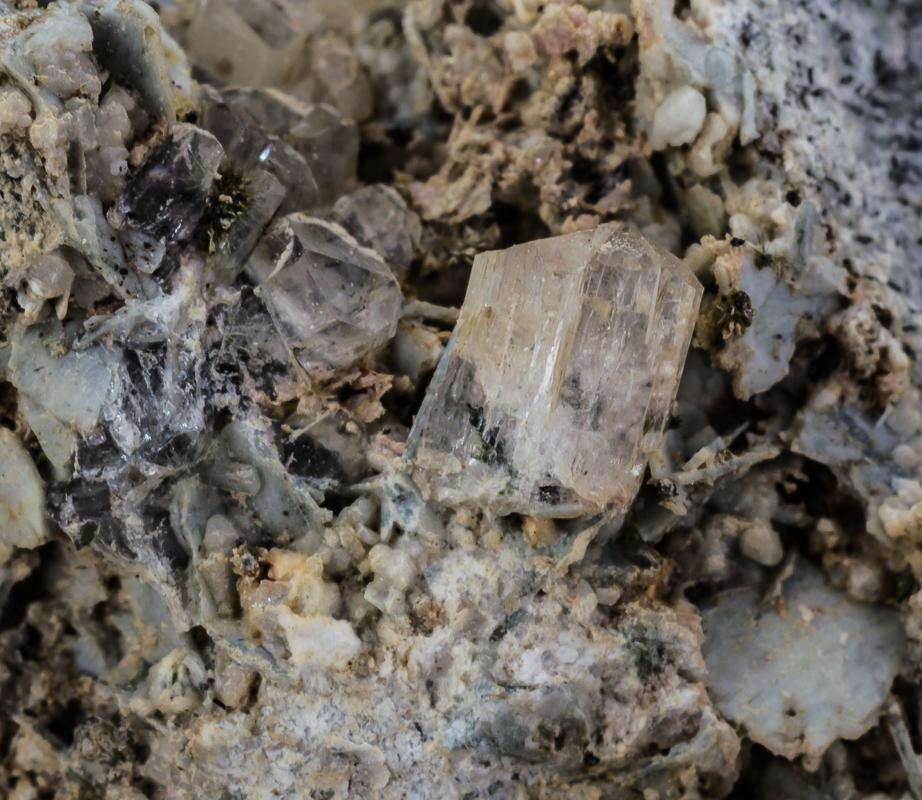 Eudialyte Microcline & Natrolite