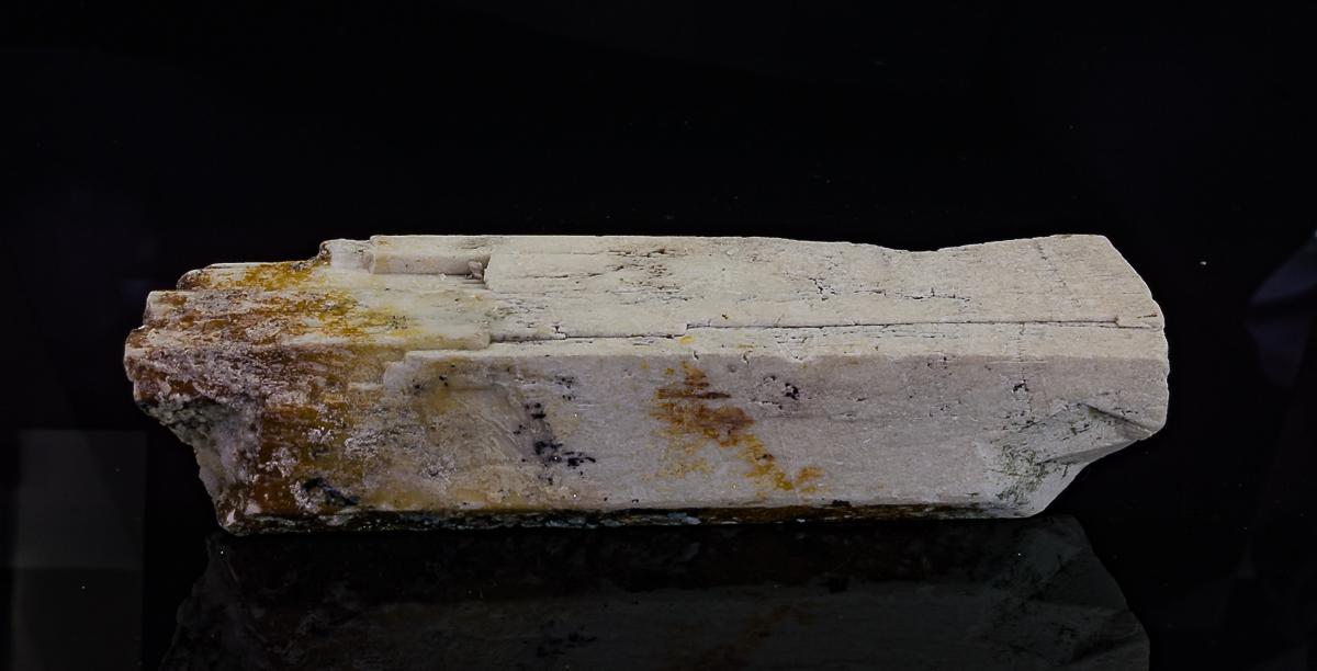 Microcline Hyalite & Schorl